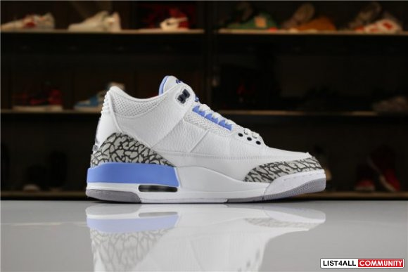 NIKE AIR JORDAN 3 BASKETBALL SHOE FOR SALE www.jordansolecollector.com