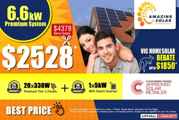Install Residential Solar Panels in Melbourne