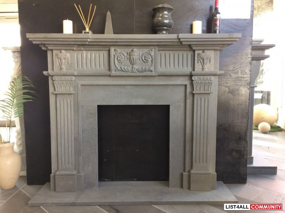 Create an Alluring Natural Stone Fireplace with Intriguing Designs