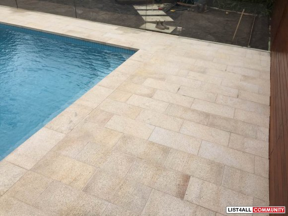 Exquisite Collection of Granite Pool Coping Tiles
