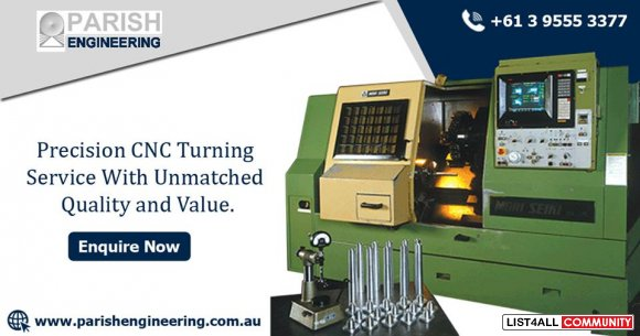 High Performance and Quality CNC Turning in Melbourne