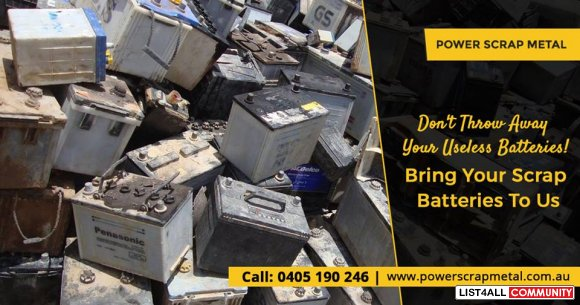 Want to Sell Scrap Batteries?