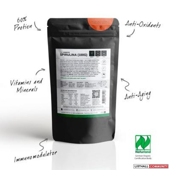 Searching For Authentic and Organic Spirulina Powder?