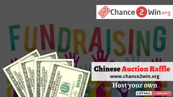Host your own Fundraiser Basket Raffle - Chinese Auction Raffle