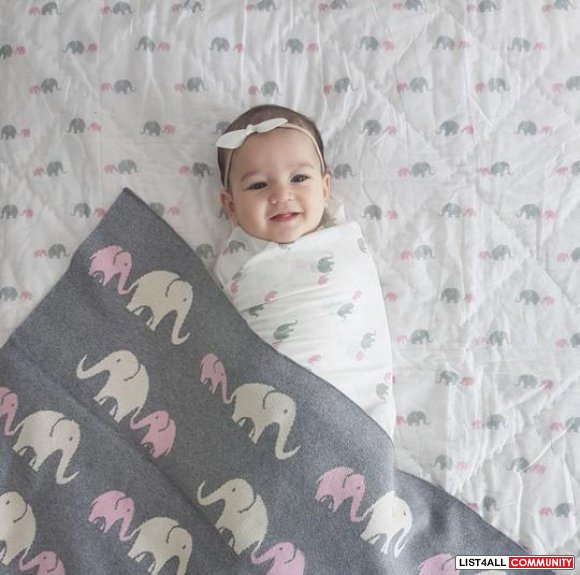 Make Your Baby's Naptime Peaceful with Cotton Baby Blankets