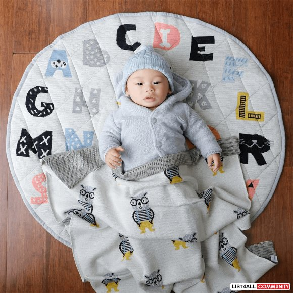 Discover Entire Range of Softest Cotton Baby Blankets