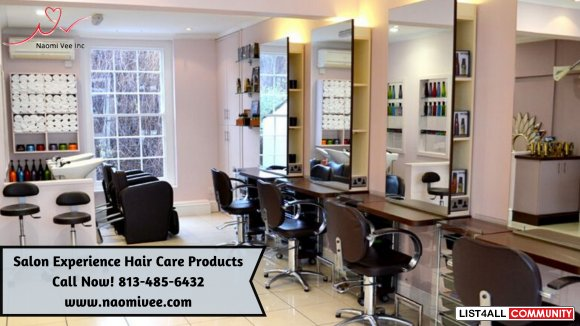 Salon Experience Hair and Skin Care Makeup Products