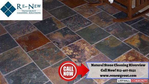 Natural Stone Cleaning Sun City Center Riverview, Florida