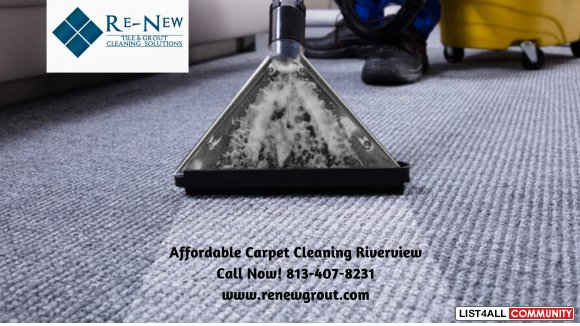 Affordable Carpet Cleaning Riverview, Tampa, Brandon & Florida