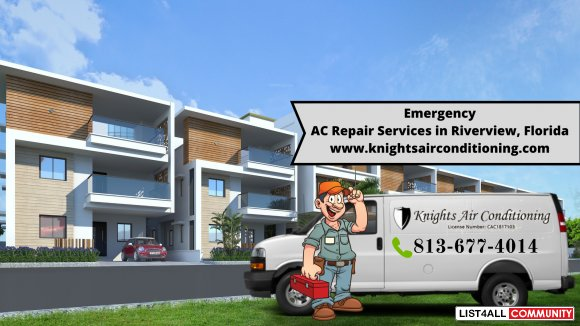 24/7 Emergency AC Repairs Service Provider in Riverview, Florida