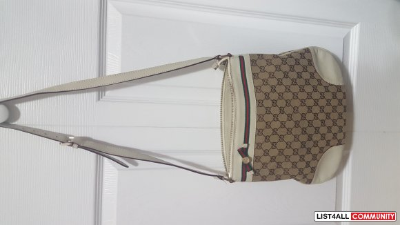 GUCCI CROSSBODY BAG!