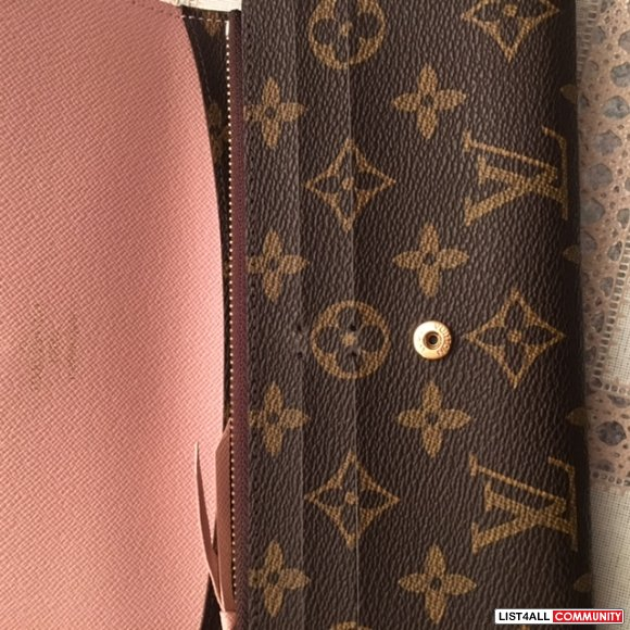 "Louis Vuitton ""Emilie"" Wallet"