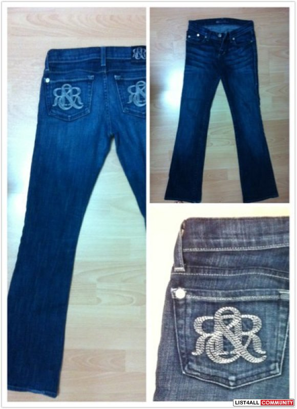 ROCK AND REPUBLIC JEANS - size 24