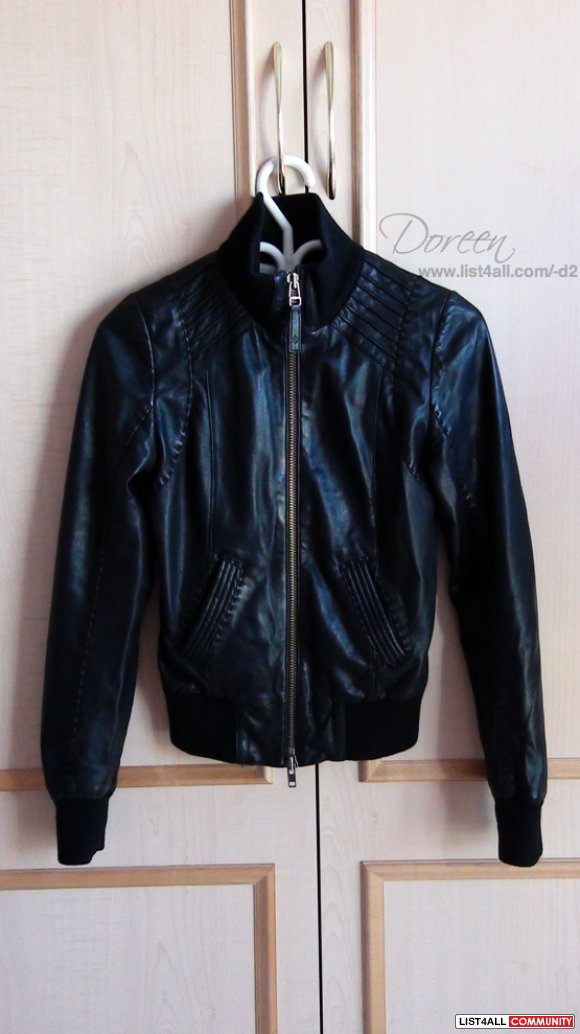 Mackage Leather Jacket - Jerry (Aritzia)
