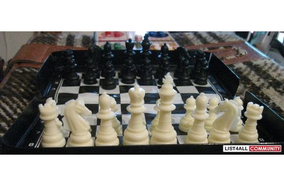 Travel Chess for $0.50
