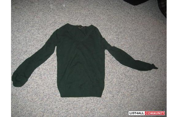 Zara - Forest Green - Small - Sweater