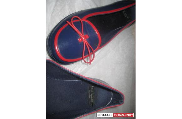 Kate Spade - Size 7 -Blue and Red Heels