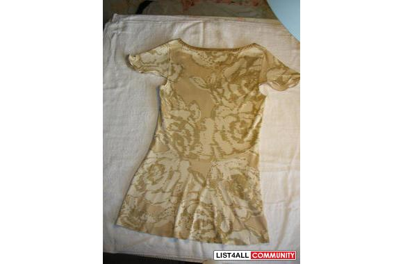Banana Republic silk top, brand new with tag
