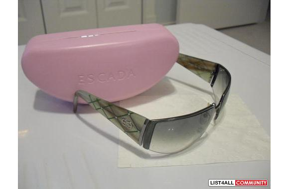 Escada Sunglasses, 100% authentic guarantee or money refund