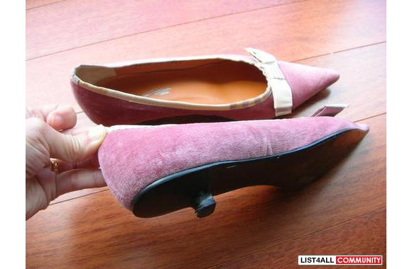 Beautiful and lovely lady shoes