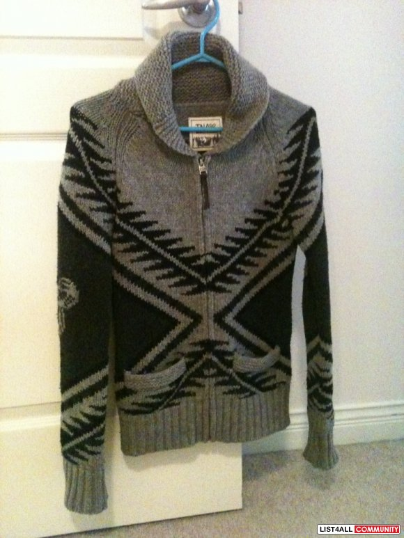 TNA Cowichan style sweater