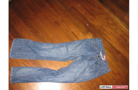 Size 32 boot cut H and M jeans