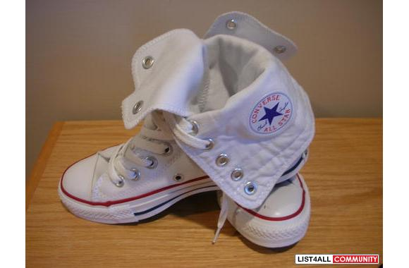 Brand New Converse All Star - White High Top