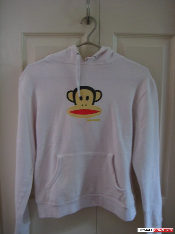 Authentic Paul Frank White Hoodie