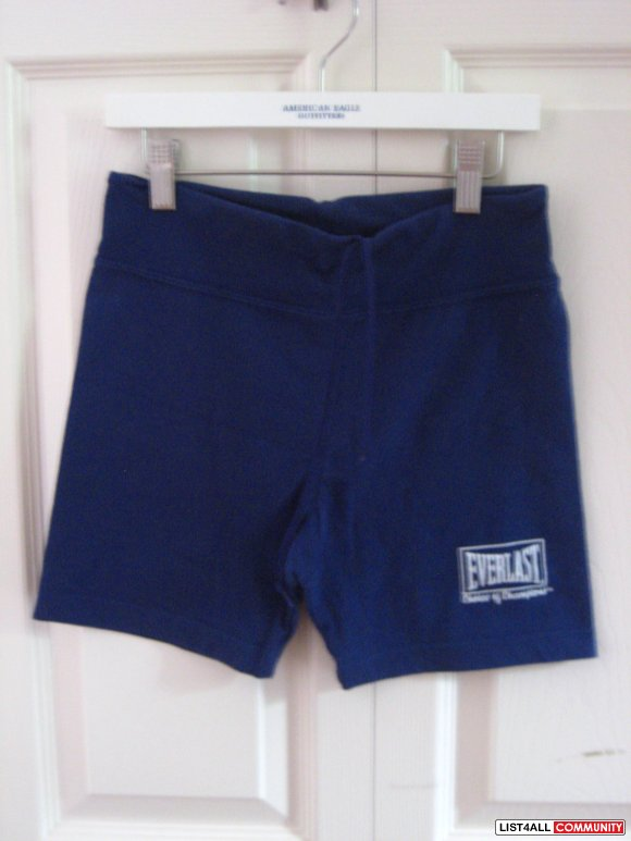 Navy Blue Sweat Shorts