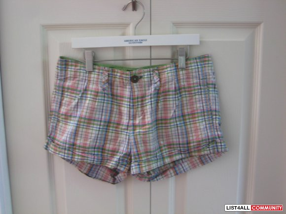 American eagle checkered Shorts