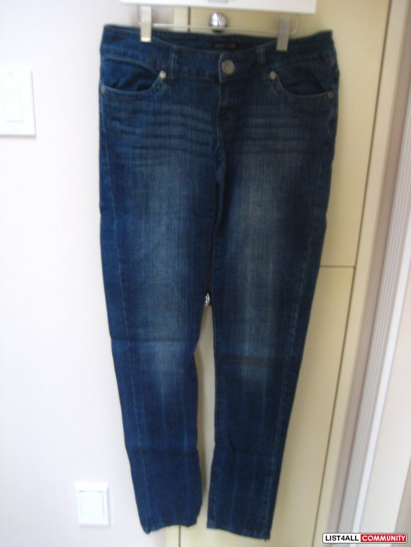 Dark Straight/Skinny Jeans