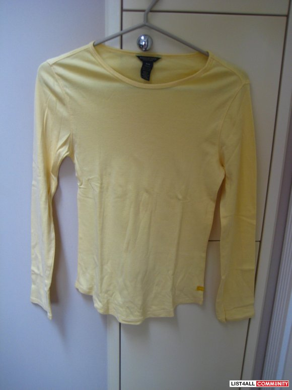 AE Yellow Long Sleeve