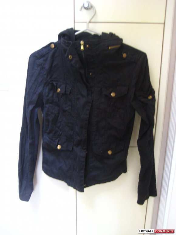 Everyday Black Casual Jacket