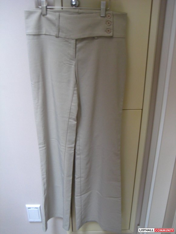 Brand New Dynamite Beige Dress Pants