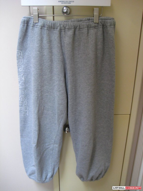 Garage Grey Knee Length Sweat Pants