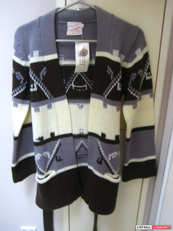 Brand New Patterned Sweater