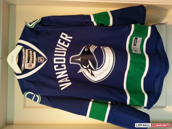 Vancouver Canucks Premier Orca Home Jersey