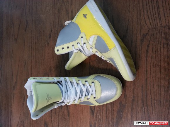 Creative Recreation Yellow/Silver Galow Hi