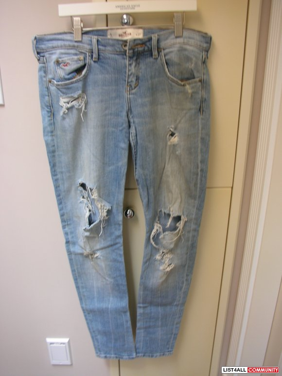 Hollister Ripped Stretch Jeans