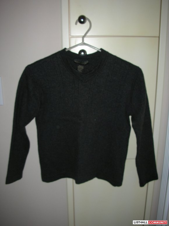 Banana Republic Dark Grey Sweater