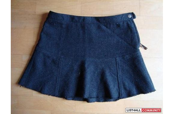 American Eagle Lined Wool Skirt