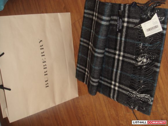 NEW Authentic Burberry Scarf from Seattle Premium Outlet