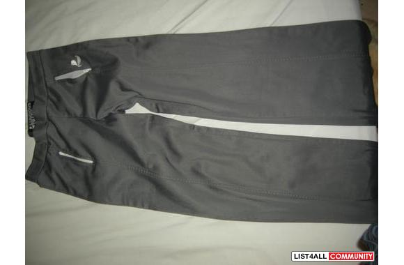 Luscious track/ sweat pants -30, size lg, has two zipper pockets $35