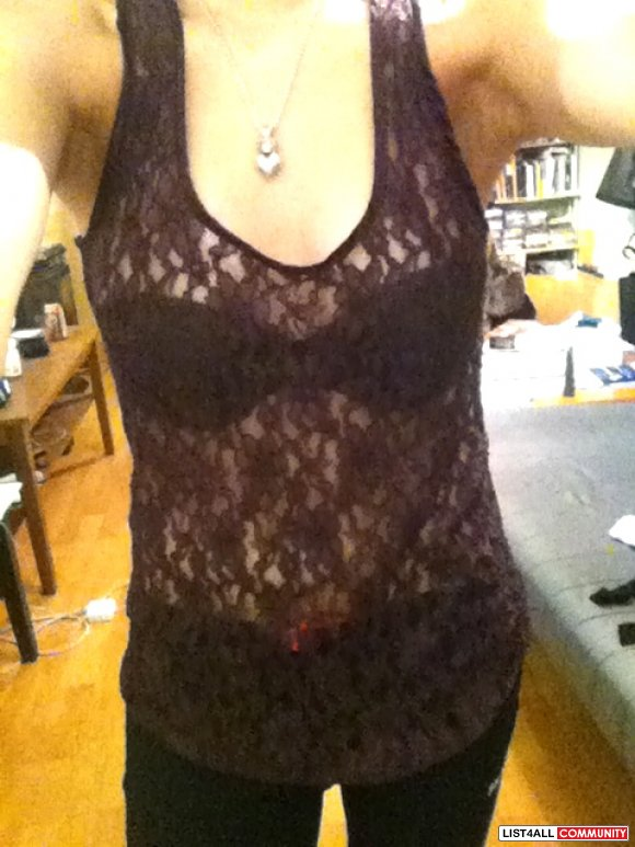 lace beaters tanks tops aritzia