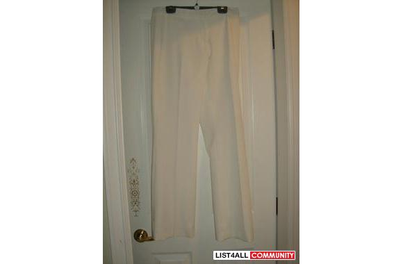 Classy Off White Pant suite