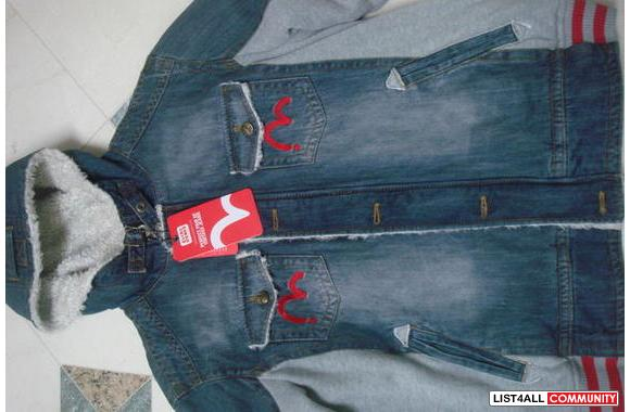 Evisu Jean Jacket (Limited Edition from japan) BNWT**