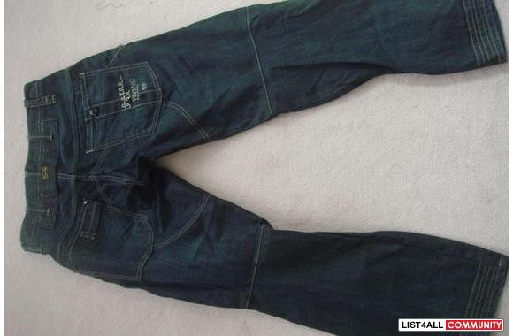 "G-star ""Raff Elwood Constructed Loose"" jeans BNWOT**"