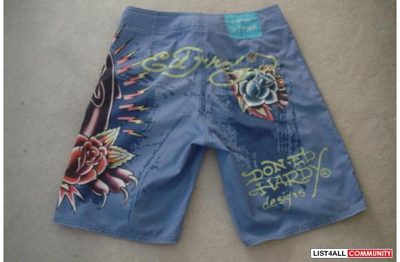Ed Hardy Panther Board Shorts