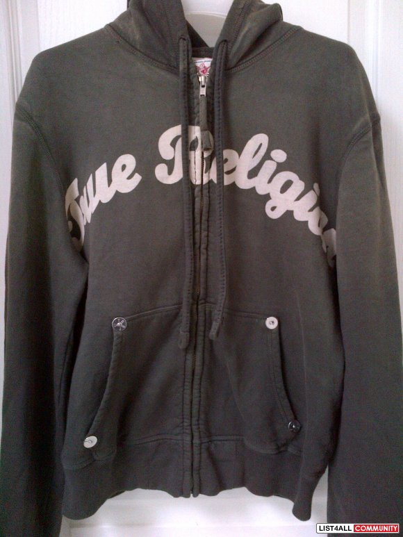 True Religion Fleece Hoodie