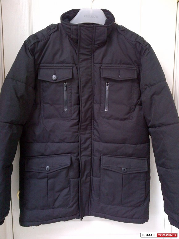 Jack & Jones long Jacket BNWOT**